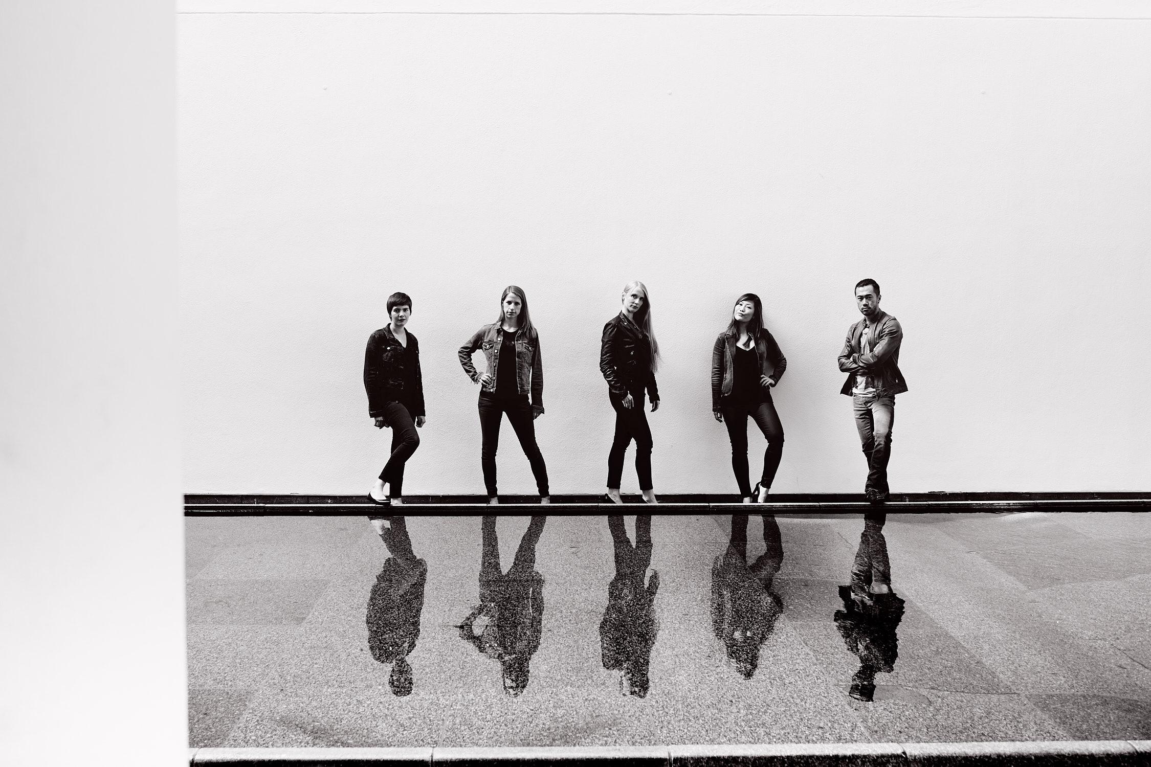 Arundos Quintett Bläserensemble fotografiert von Christian Palm Düsseldorf