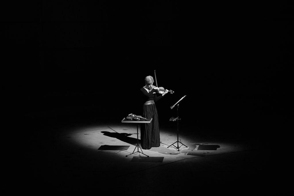 Isabelle Faust Philharmonie Köln fotografiert von Christian Palm