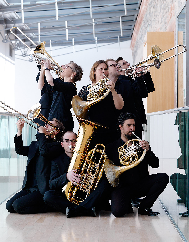 Bläsergruppe der Neuen Philharmonie Frankfurt