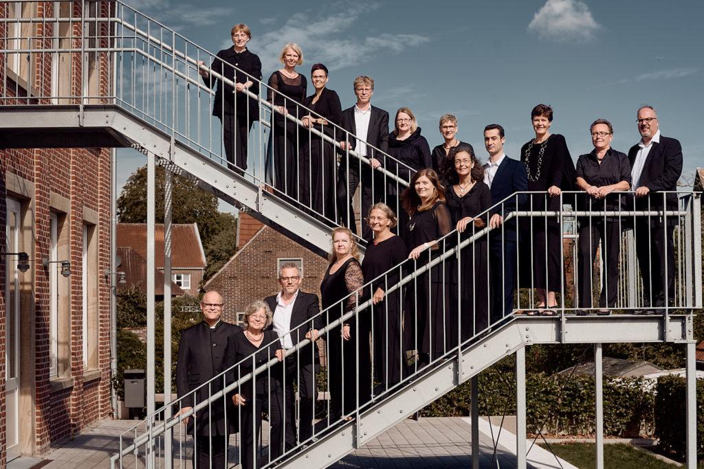 Westfälischer Kammerchor Münster und Bernhard van Almsick fotografiert von Christian Palm Musiker-Fotograf