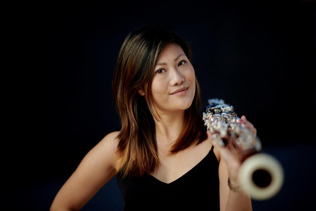 Arundos Quintett fotografiert von Christian Palm Bläserensemble Musiker Yuka Kamo mit Fagott