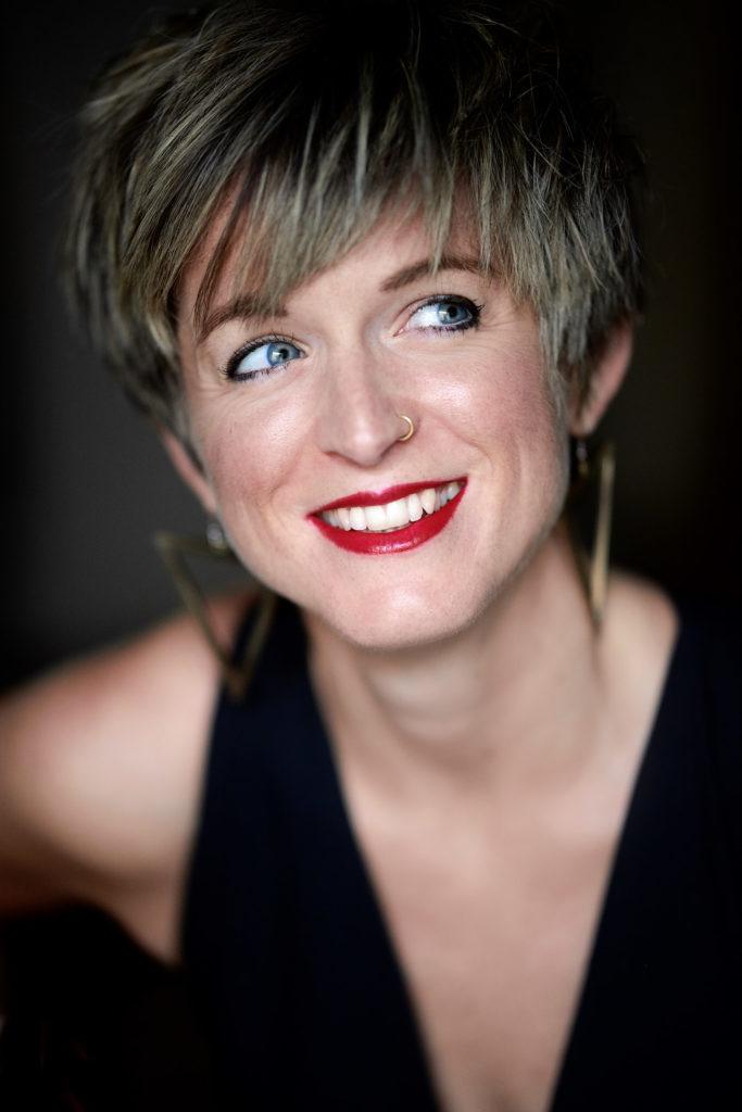 Lucy de Butts, Sopran, fotografiert in Koeln von Christian Palm