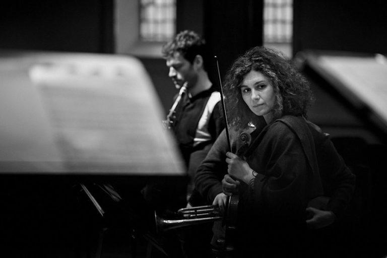 The Sound of Silence - ChorWerk Ruhr im Kulturzentrum Immanuel in Wuppertal bei einem Konzert mit dem Jazz-Pianisten Marc Schmolling