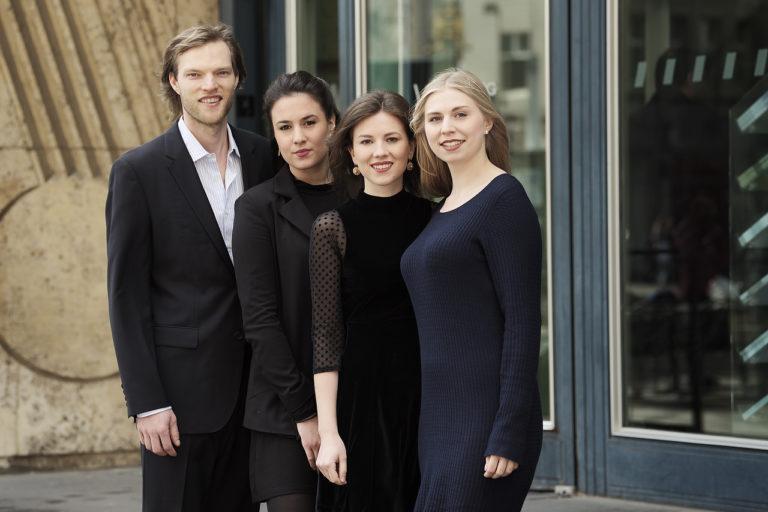 Die Akademisten des WDR Rundfunkchores Chorakademie