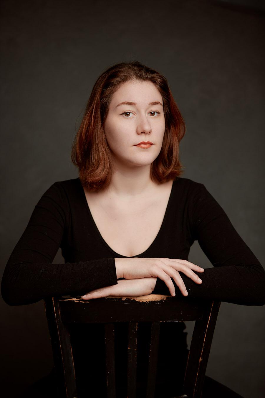 Isabella Kolb, Schauspielerin, fotografiert von Christian Palm