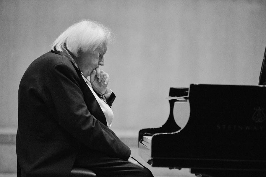 Portrait Grigory Sokolov Philharmonie Koeln