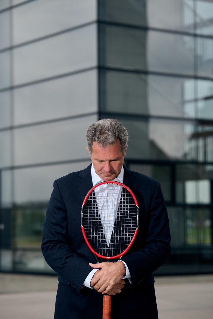 Sean Brawley Portrait Tennis