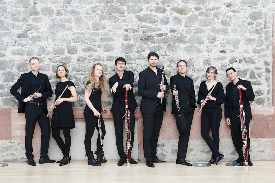 Neue Philharmonie Frankfurt - fotografiert im Congress Park Hanau Orchester Portrait Foto Musikerfotografie