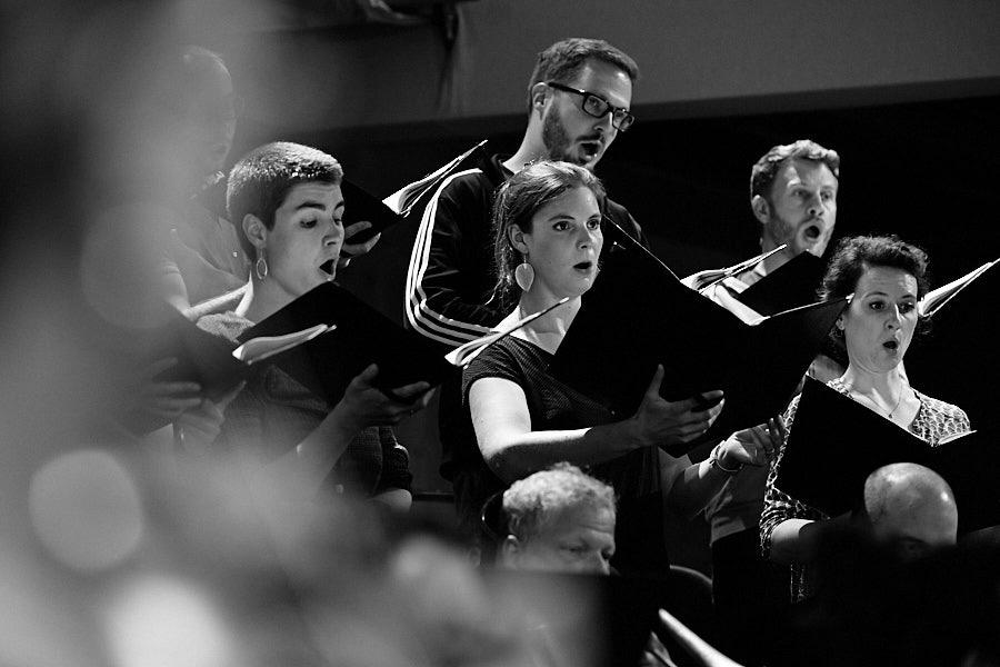 CHORWERK RUHR beim Rheingau Musik Festival im Kloster Eberbach