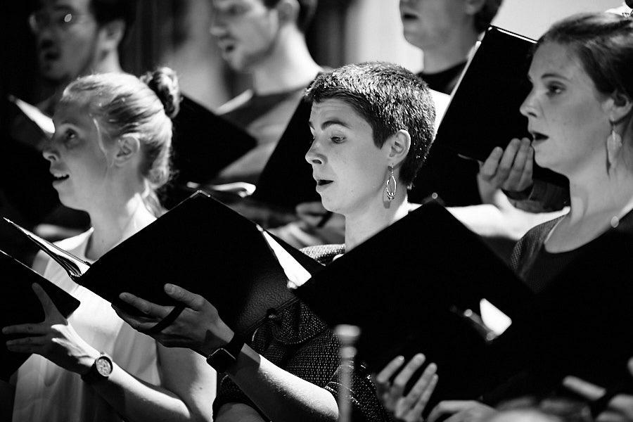 Sängerin des Chorwerk Ruhr