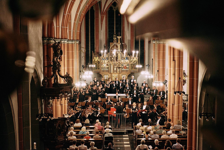 Collegium Musicum Universität Köln bei den Brühler Schlosskonzerten