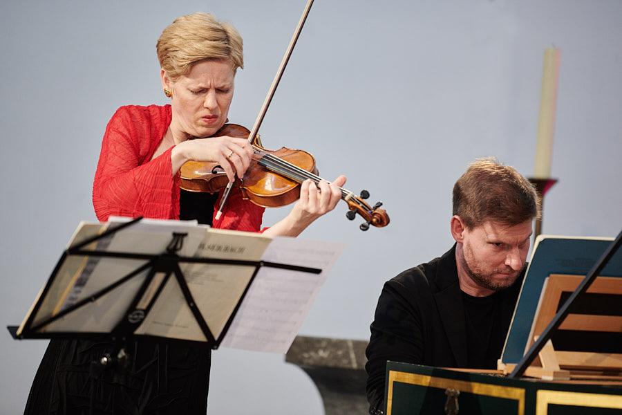 Isabelle Faust und Kristian Bezuidenhout Trinitatiskirche Köln