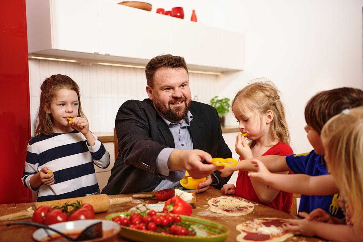 Christoph Mohr setzt sich für Kinder ein und gesunde Ernährung